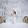 Coping with the elements at a winter wedding