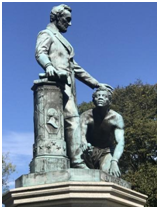 The Controversial statue meant to heal wounds